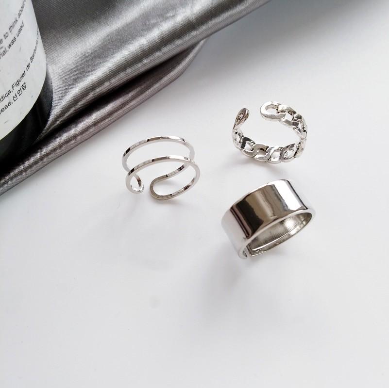 Resizable Rings set for fingers 61