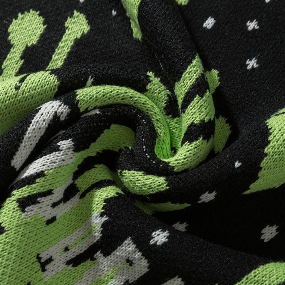 Alien Knitted Sweater E-girl 51