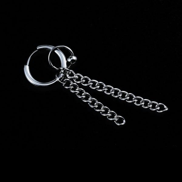 E-boys / E-girls Gothic Punk Earring with various pendants_22 2