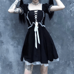 Gothic Lace Dress 3