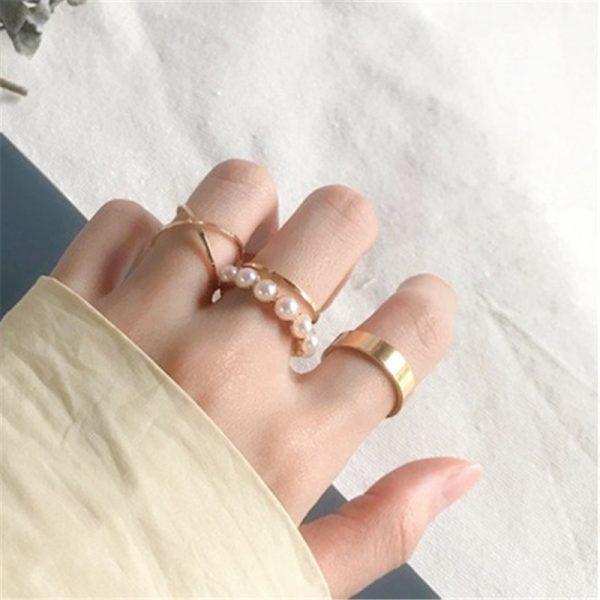Resizable Rings set for fingers 38