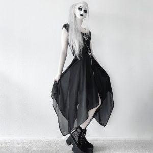 Loose Asymmetric Skirt with zipper 14