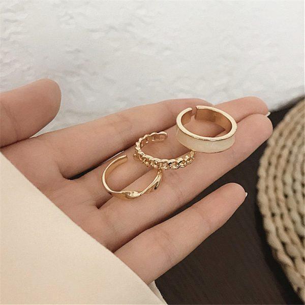 Resizable Rings set for fingers 25