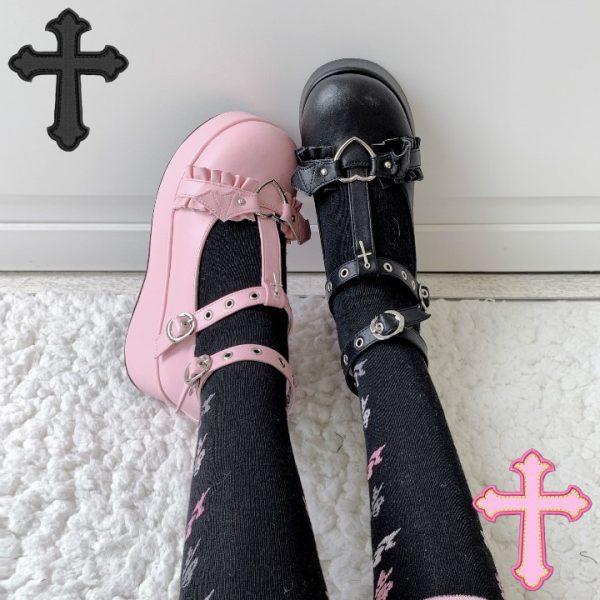 Lolita Kawaii Shoes Shoes 12