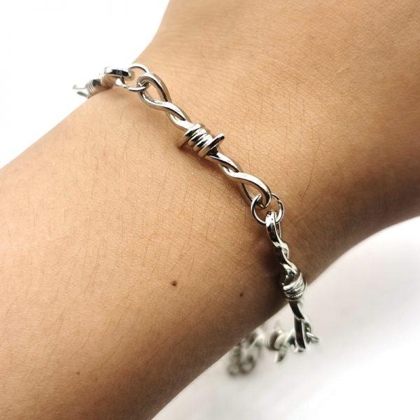 Barbed Wire Little Thorns Bracelet 2