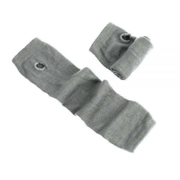 Knitted Long Fingerless Mittens 3