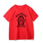 Gothic rose print T-shirt 8