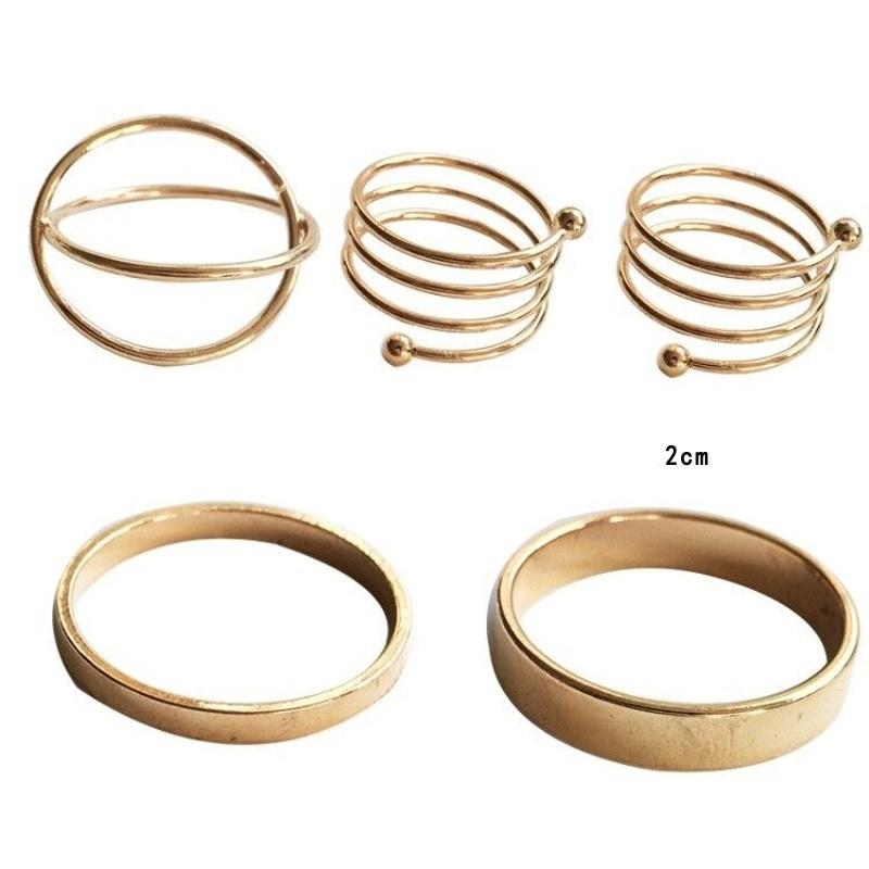 Resizable Rings set for fingers 45