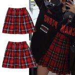 School Uniform Plaid Skirt 3