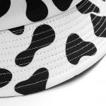 Black White Cow Print Bucket Hat 5