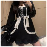 Japanese Lolita Gothic Dress 13