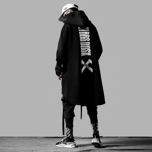 Mens Oversize Long Cloak  Hoodies  5