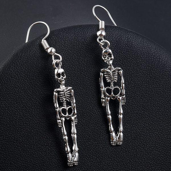 Skeleton Dangle Earrings 8