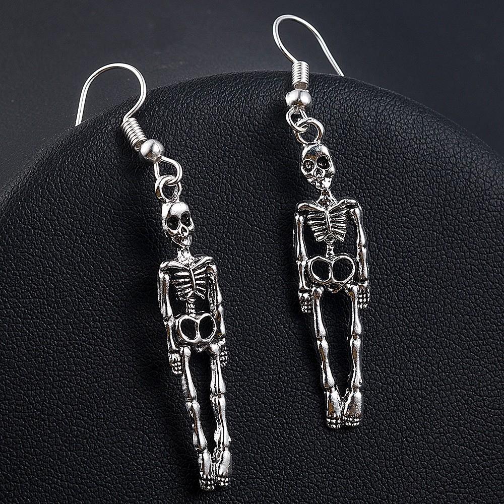Skeleton Dangle Earrings E-girl Punk Gothic 41