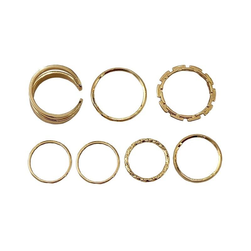 Resizable Rings set for fingers 43