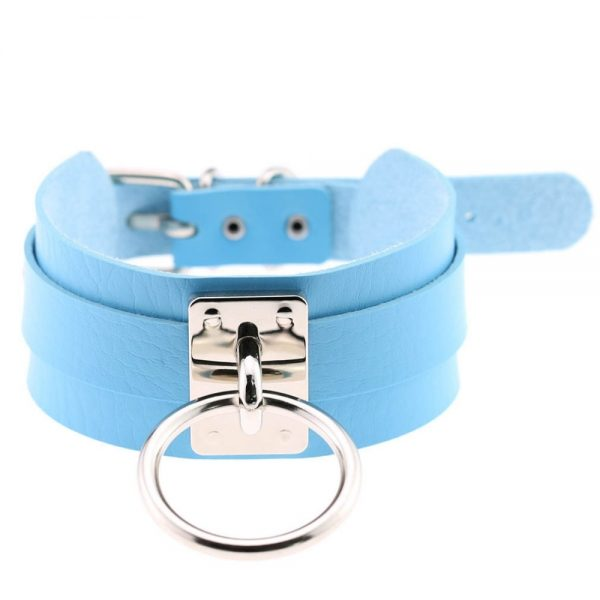 Wide Choker with Ring 23