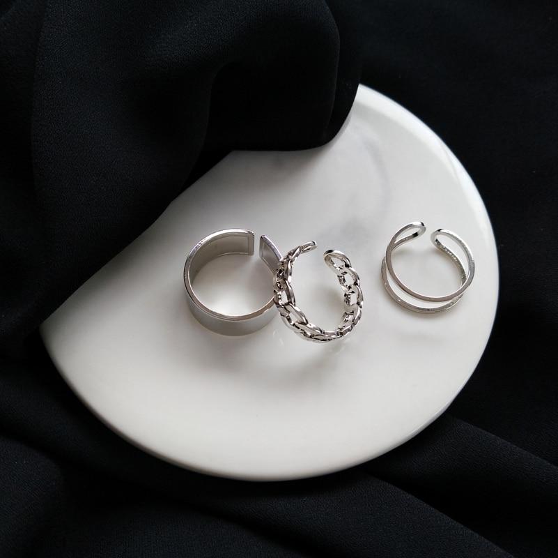 Resizable Rings set for fingers 59