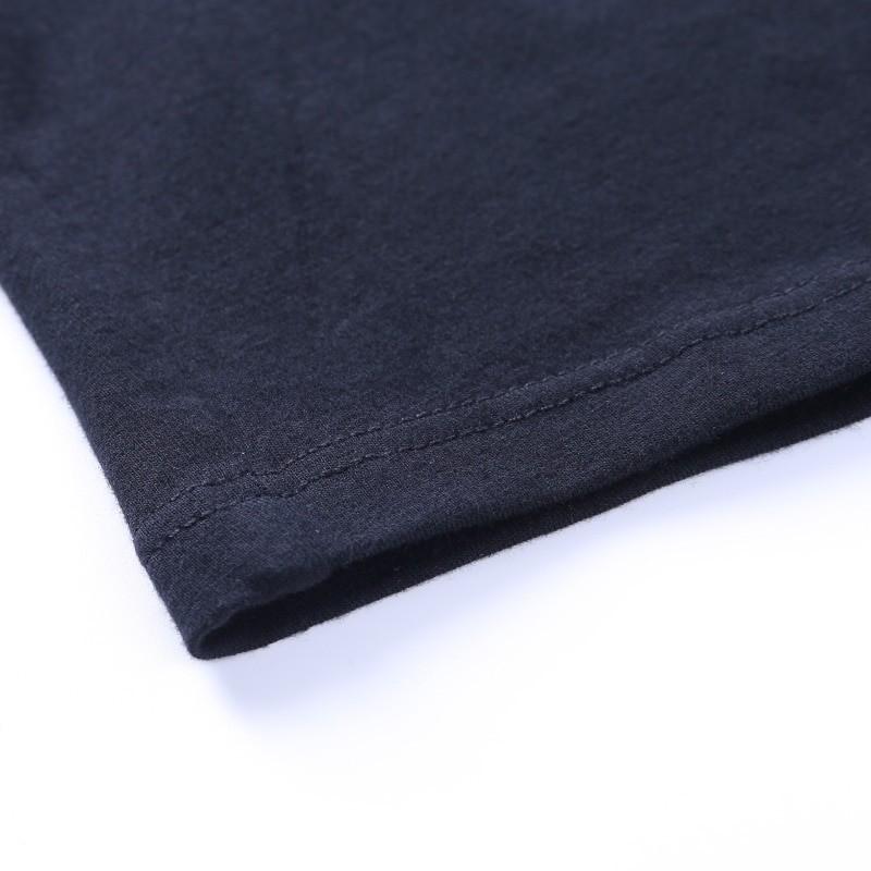 Black Bodycon Long Sleeve Crop Top E-girl 46