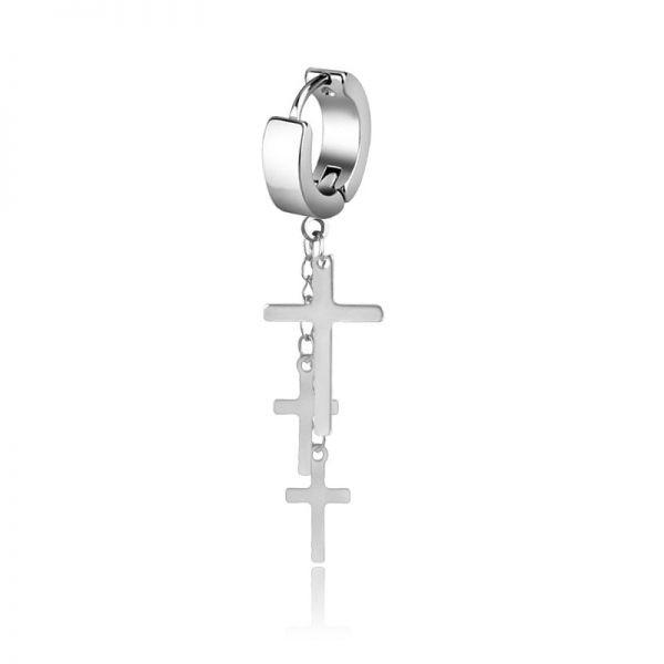 E-boys / E-girls Gothic Punk Earring with various pendants_24  2