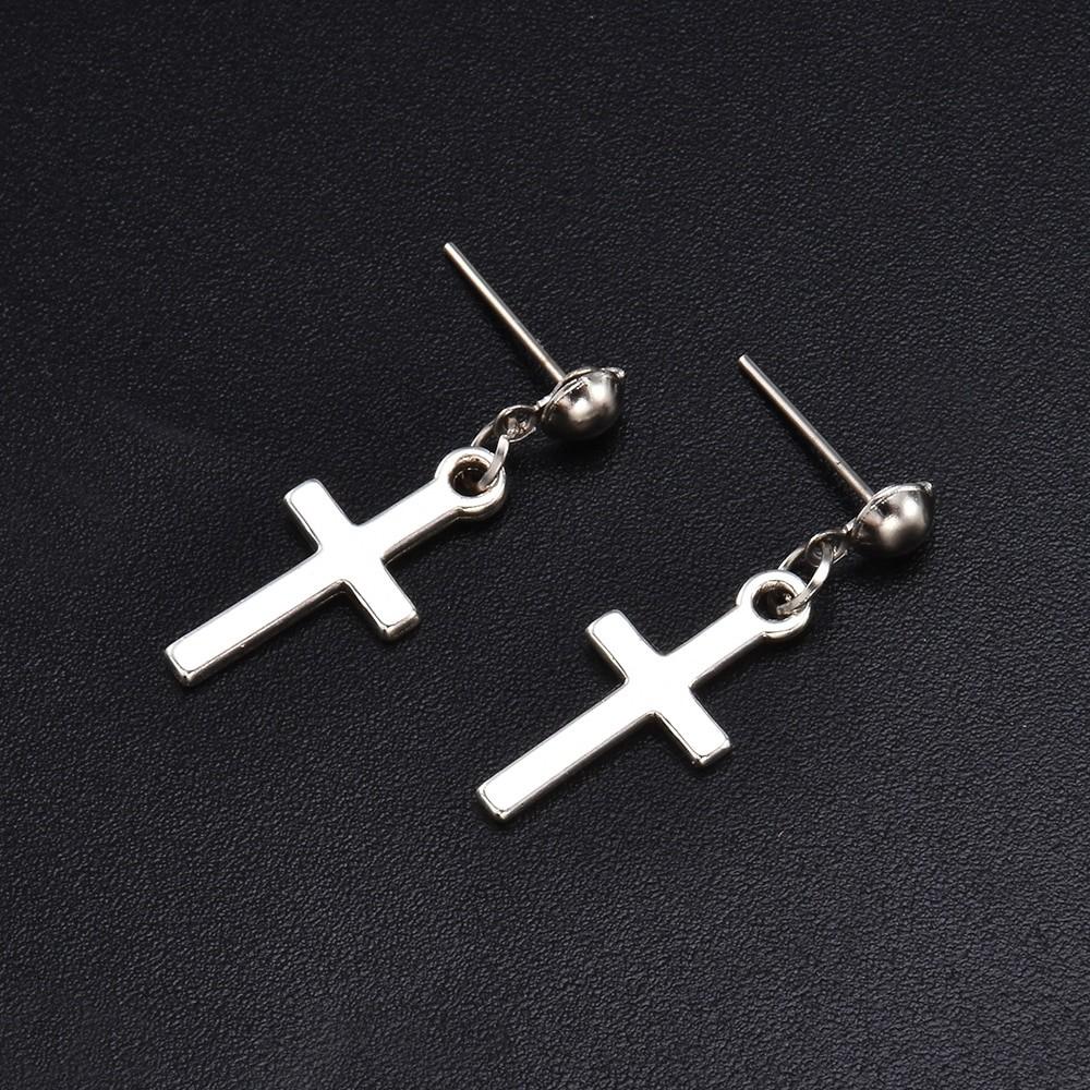 Cross pendant Earrings 43