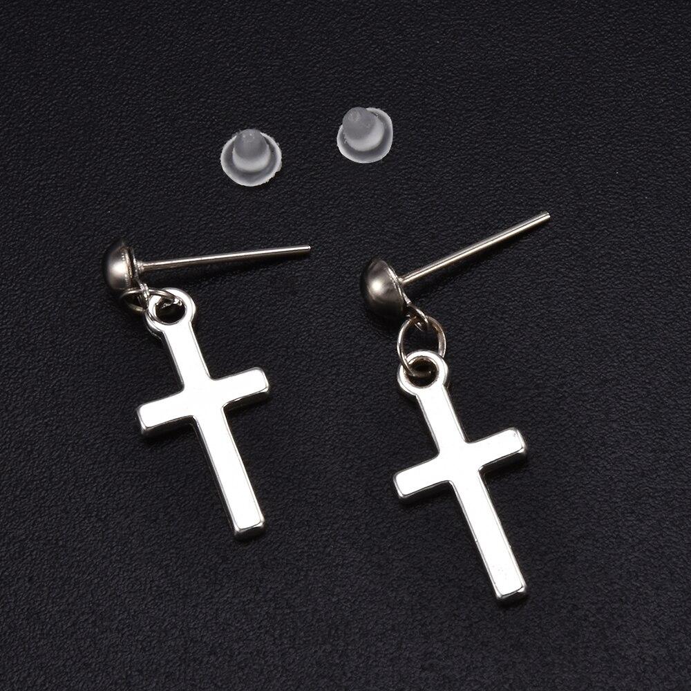Cross pendant Earrings 41