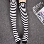 Long Stocking  Over The Knee (striped/dots) 3