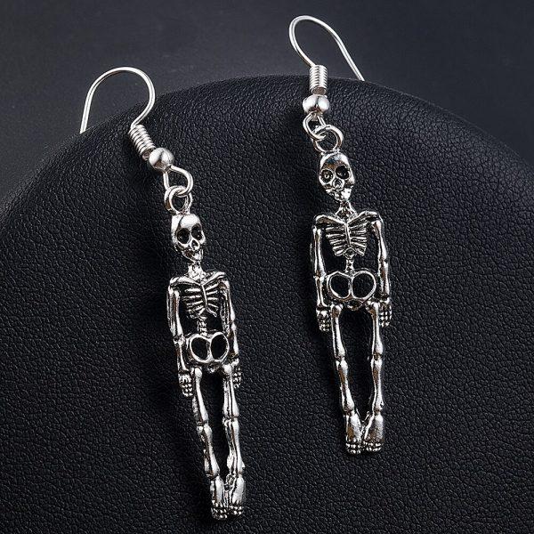 Skeleton Dangle Earrings 2