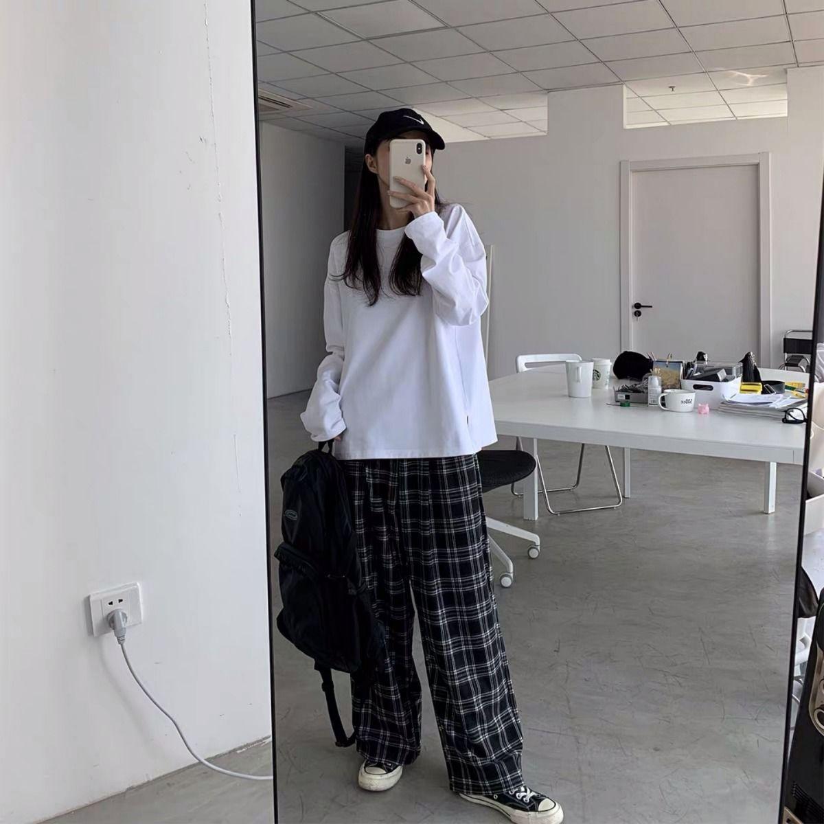 Plaid Oversize Pants E-boy E-girl 51