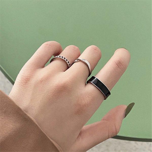 Resizable Rings set for fingers 10