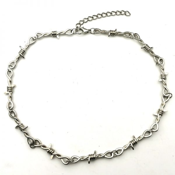 Barbed Wire thorns Choker 3