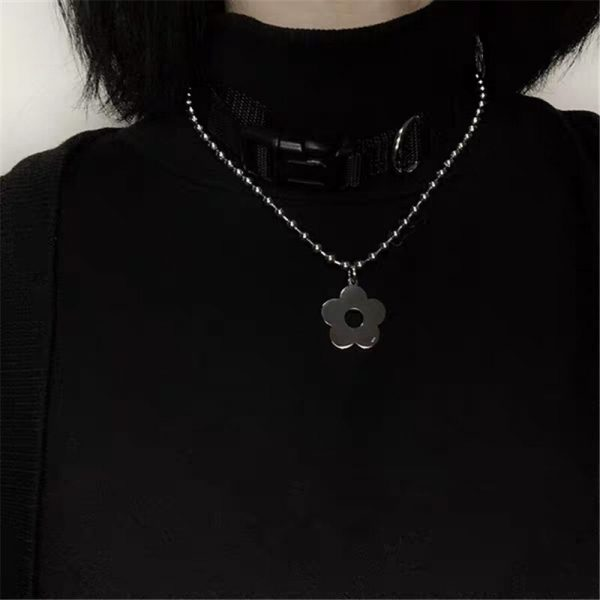 Harajuku Kawaii Necklace with Flower 3