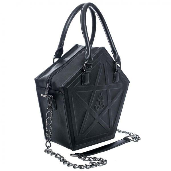 Pentagram Punk Gothic Star Handbag 3