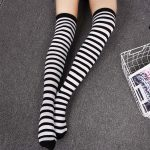 Long Stocking  Over The Knee (striped/dots) 4