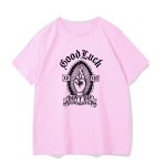 Gothic rose print T-shirt 5