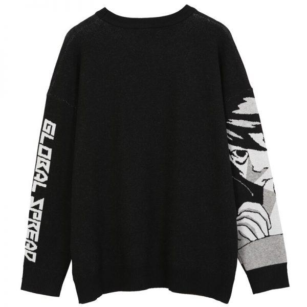 Harajuku Sweater with Anime print 2
