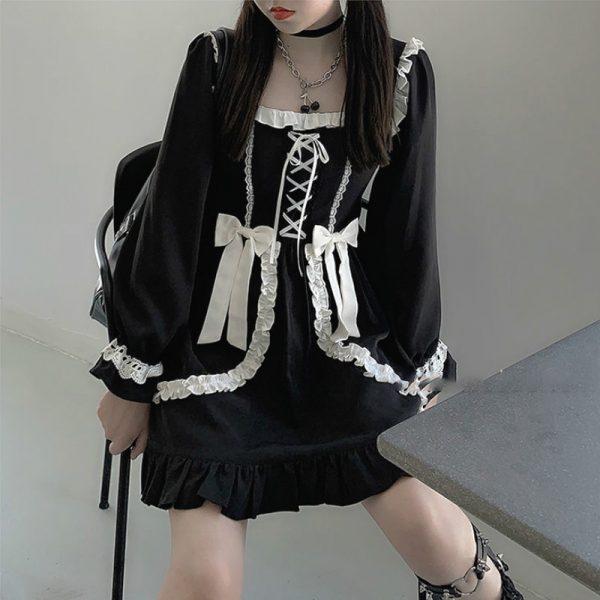 Japanese Lolita Gothic Dress 12