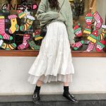 Long Midi Skirts  with Elastic High Waist 2