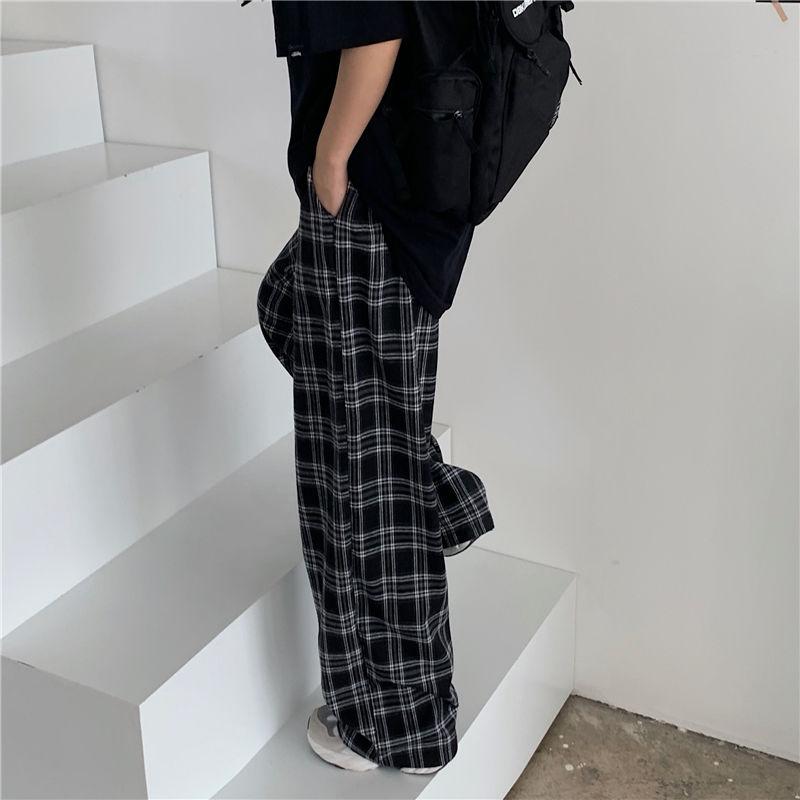 Plaid Oversize Pants E-boy E-girl 49