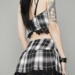 Pleated Skirts with lace 6