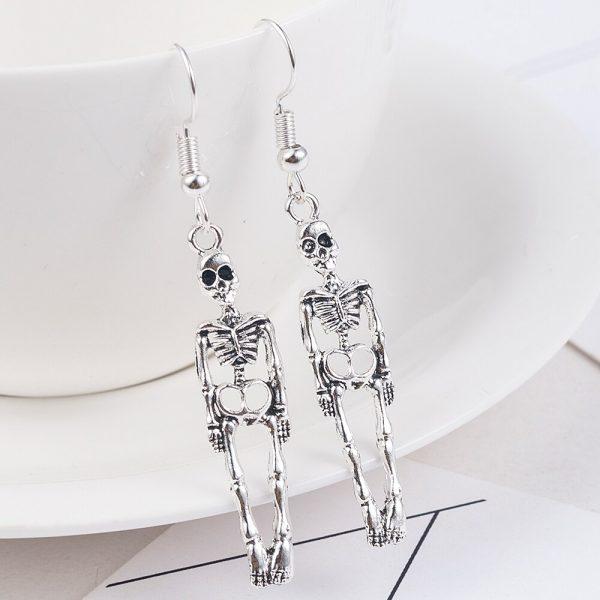 Skeleton Dangle Earrings 4