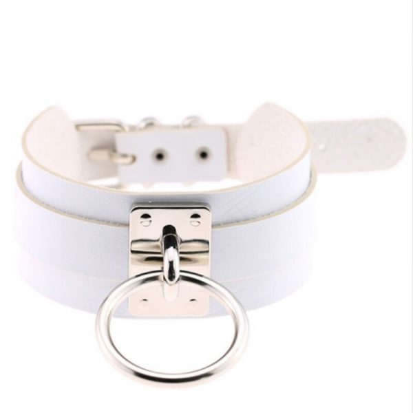 Wide Choker with Ring 3