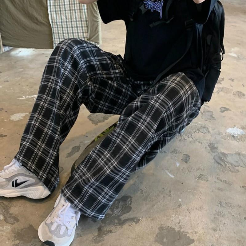 Plaid Oversize Pants E-boy E-girl 43