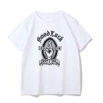 Gothic rose print T-shirt 4