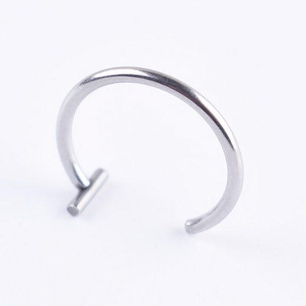 Medical Titanium steel  lips / nose Fake Ring 2