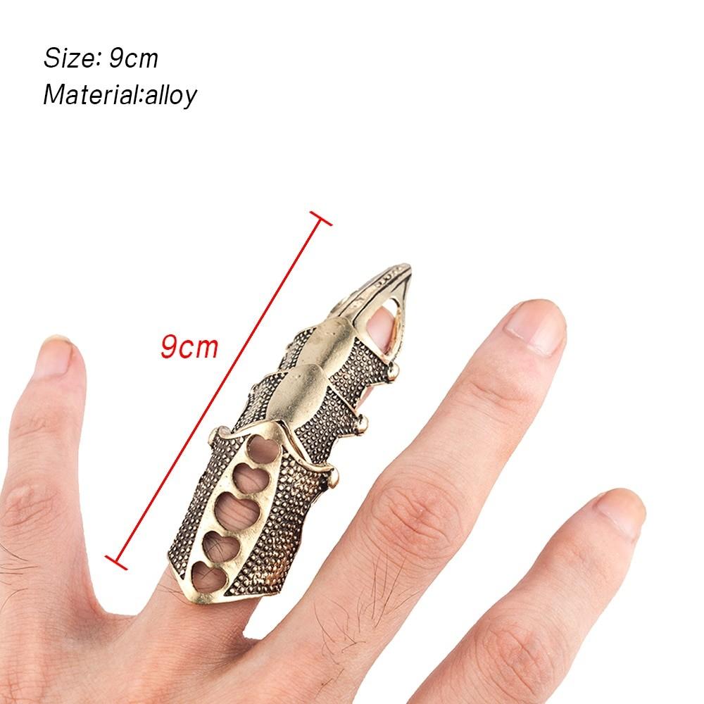 Punk Gothic Full Finger Ring E-girl Punk 46