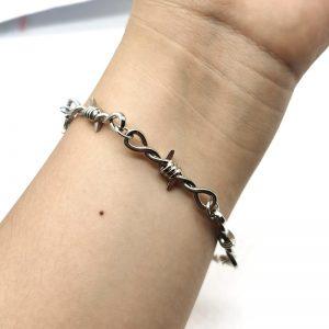 Barbed Wire Little Thorns Bracelet 1