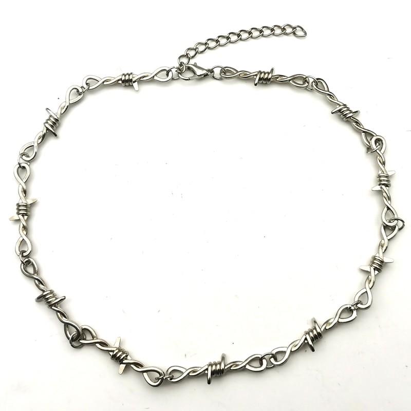 Barbed Wire thorns Choker E-girl 42