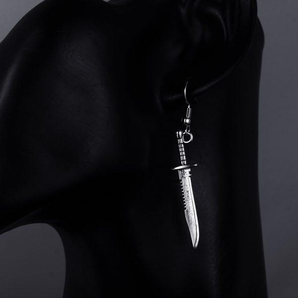 Knife Shape Earrings 4