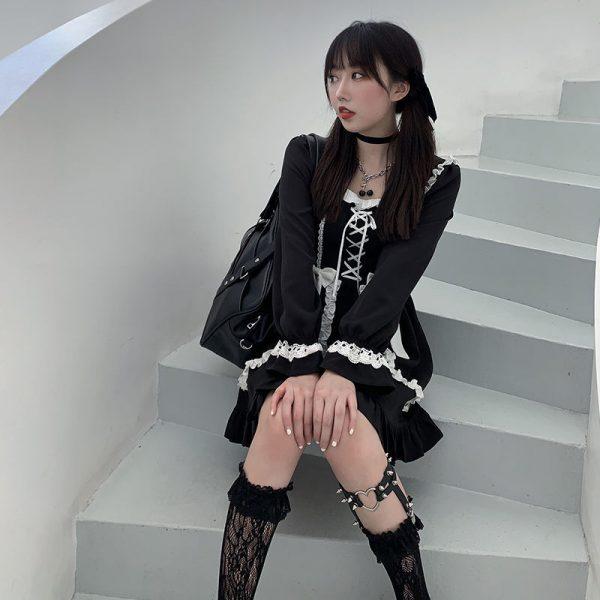 Japanese Lolita Gothic Dress 4