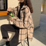 Grunge Women Loose Blouses 4